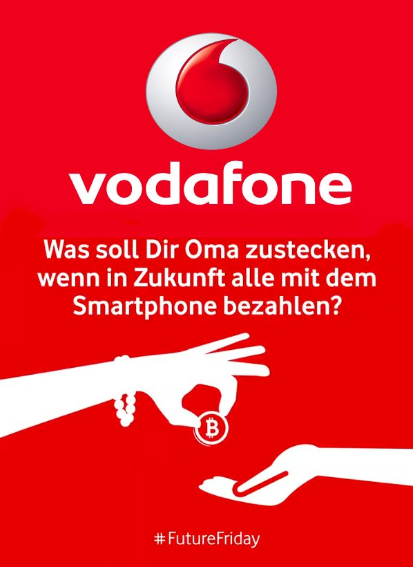 Vodafone Brings Bitcoin to the Mainstream